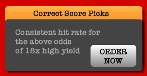 Order correct score picks now